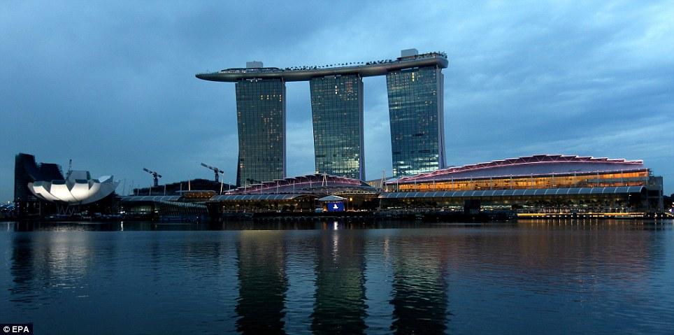Piscina Infinita Singapur